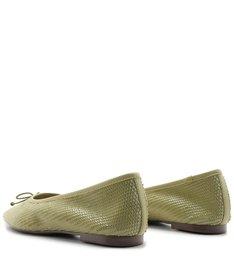 Sapatilha Ballerina Snake Green
