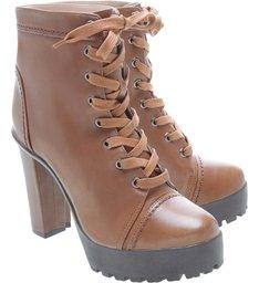 Combat Boot Caramel