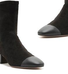 Sock Boot Camurça Black