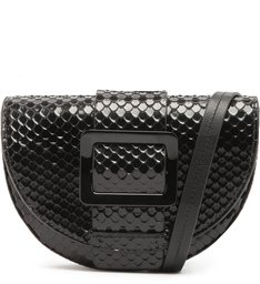 Belt Bag Buckle Bright Snake Black