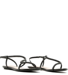 Sandália Rasteira Curves Glam Black