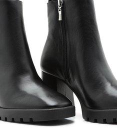 Bota New Block Heel Black