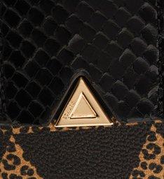 [Pre-Order] Bolsa Tote Grande Lara Triangle Onça