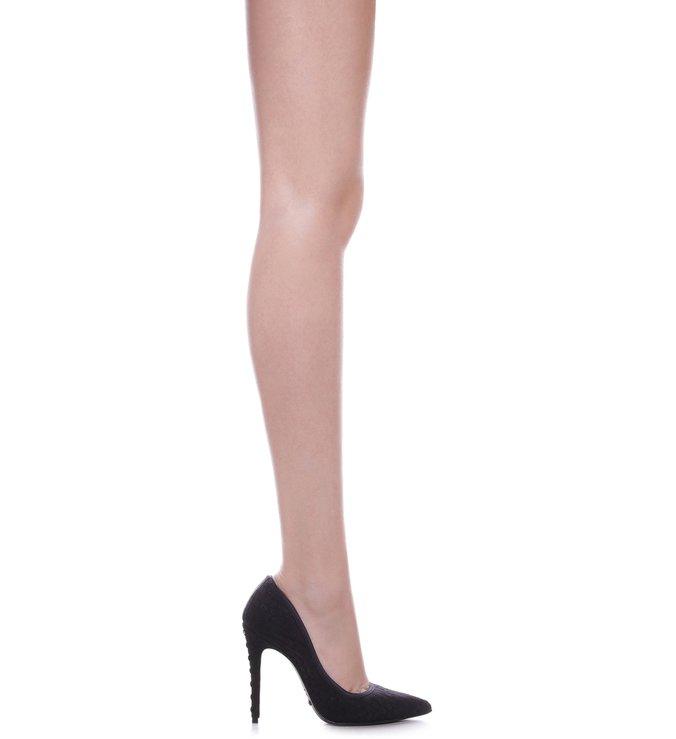 Scarpin Lace Black