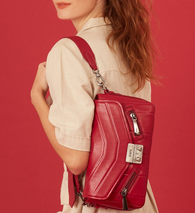 Shoulder Bag New Charlotte Red