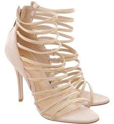 Sandália Multi Straps Tanino Gold
