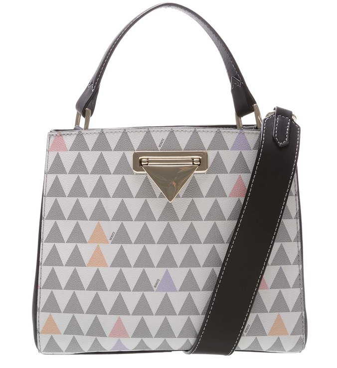 CROSSBODY DIDI MULTISTRAP TRIANGLE Pearl