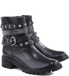 Bota Tratorada Multi Belts Black