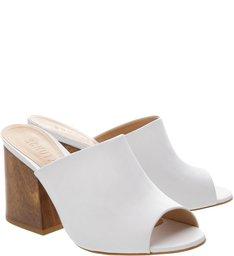 Mule Classic Wood White
