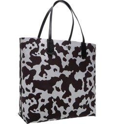 Tote Reversible Black Cow Print