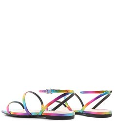 Flat Square Strings Rainbow Holo