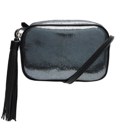 Crossbody Kate Metallic Blue