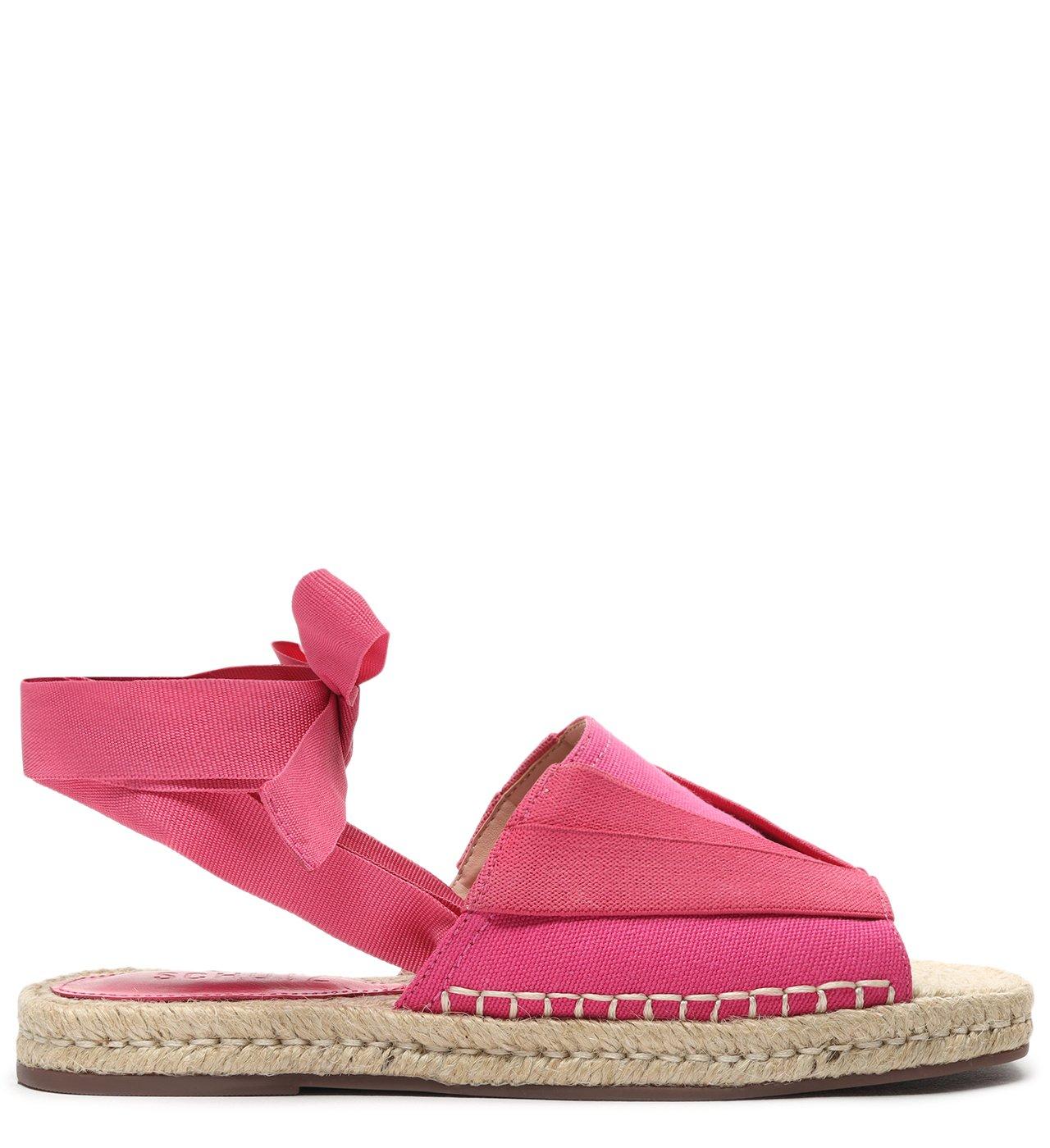 Flat Open Espadrille Pink | Schutz