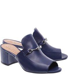 Mule Dress Blue