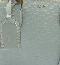 MINI TOTE NEW LORENA CROCO BABY BLUE