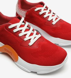 Dad Sneaker Red