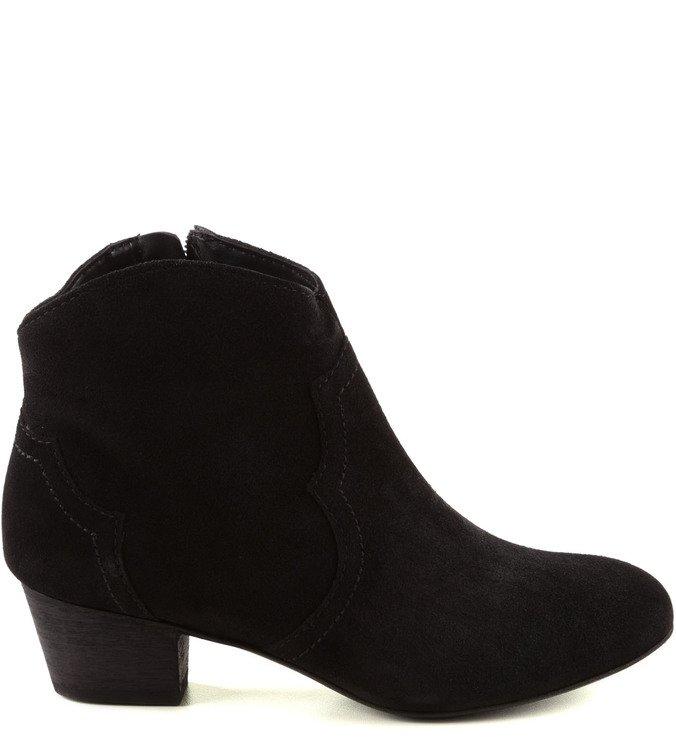 Ankle Boot Clássica Preta