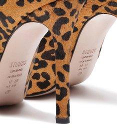 Scarpin Naked Vinil Animal Print
