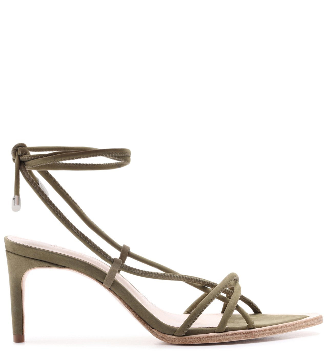 Sandália Strings Lace-Up 944 Green | Schutz