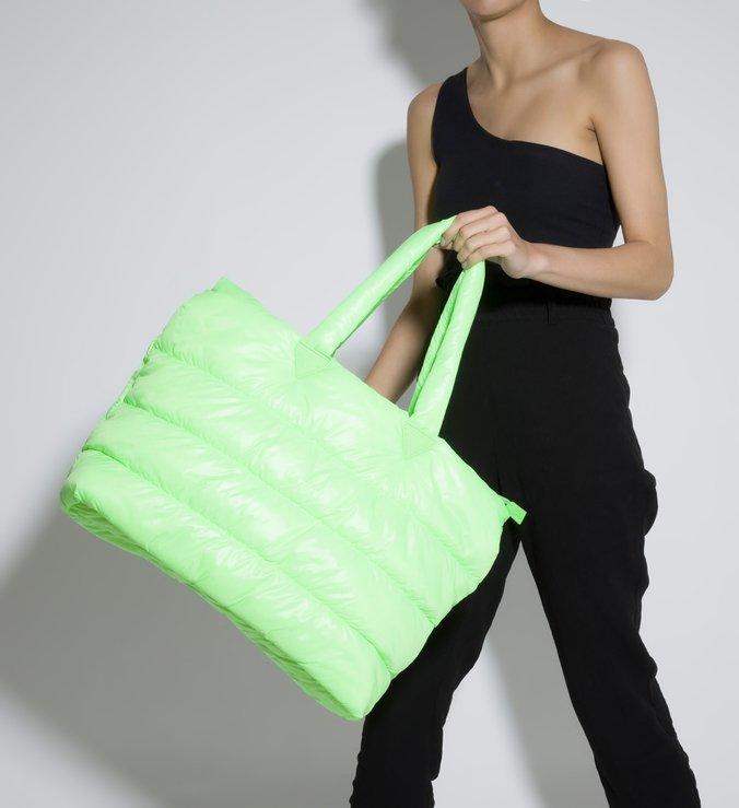 Bolsa Shopping Nylon Schutz Sportz Verde Neon