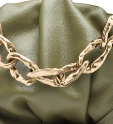 CLUTCH AVRIL CHAIN GREEN