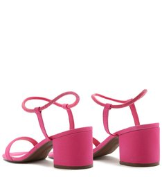 SANDÁLIA BLOCK HEEL STRINGS PINK