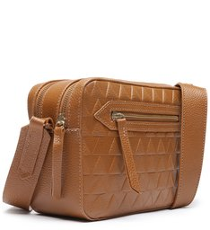 Crossbody Lilly Triangle Brown