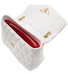Shoulder Bag Matelassê Maxi White