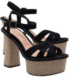 Plataforma Sino Heel Black