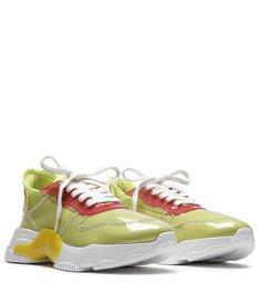 Sneaker Rush Vinil Green