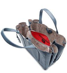 Shopping Bag Archie Snake Teal