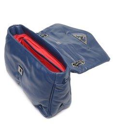 Bolsa Tiracolo Média Couro 944 Azul