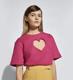Ginger x Schutz T-Shirt Pink