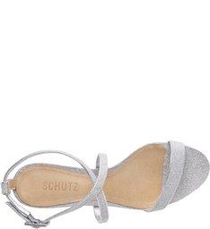 Sandália Block Heel Minimal Shine