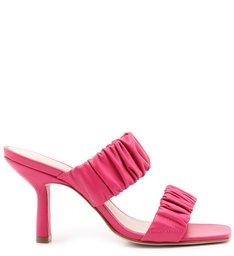 Sandália Mule Fun Straps Pink