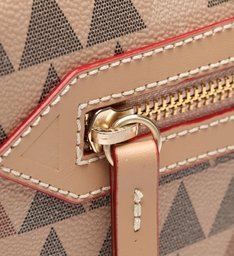 Crossbody Lili Triangle Rose