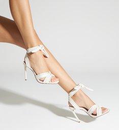 Sandália Knot Texture White