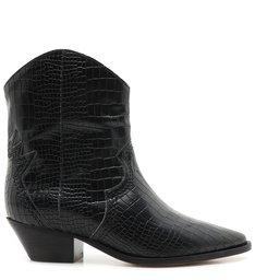 Bota Deluxe Croco Black