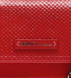Crossbody Lorena Snake Glam Red