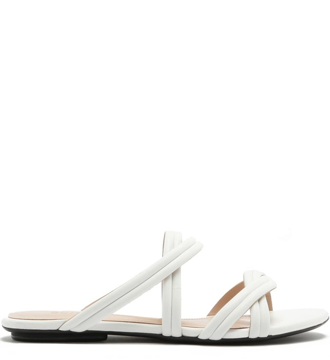 Slide Double Straps White | Schutz