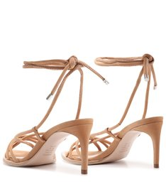 Sandália Strings Lace-Up 944 Honey