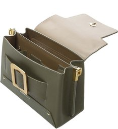 Satchel Buckle Bag Green