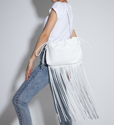 Pouch Bag Antonella White