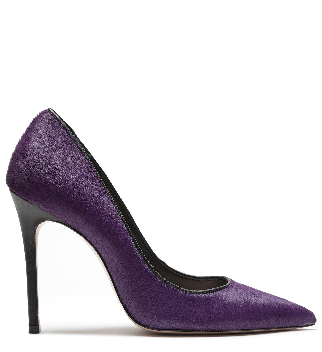 Scarpin High Pelo Purple | Schutz