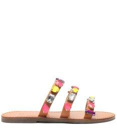 Slide Glam Stones Caramel