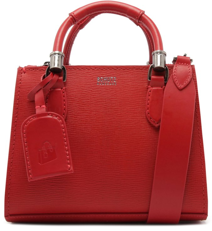 Mini Tote New Lorena Red