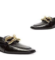 Sapato Mocassim Corrente Preto