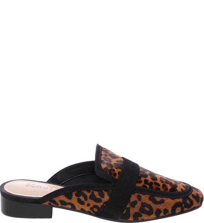 Flat Mule Wild Leopard