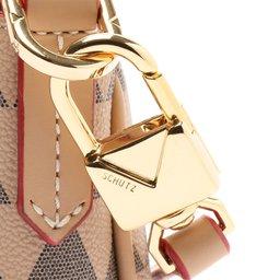 Bolsa Tiracolo Pequena Emmy Triangle Rosa
