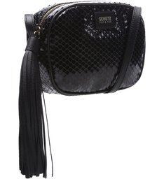 Crossbody Kate Bright Snake Black